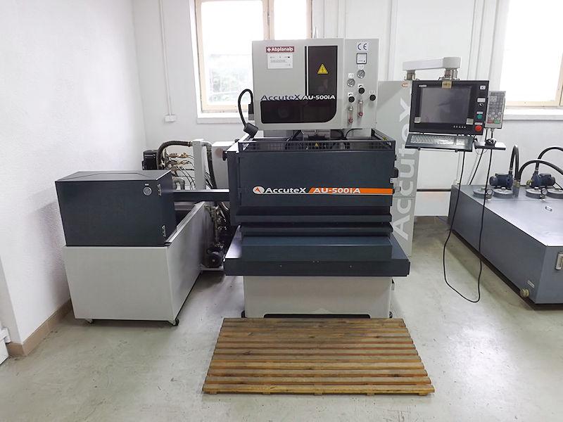 EDM Draht Maschine Accutex AU-500iA - Maschinenpark - Metallbetrieb ALEM